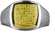 JCPenney FINE JEWELRY LIMITED QUANTITIES Mens 1/4 CT. T.W. Color-Enhanced Yellow Diamond Ring