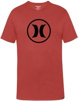 Hurley Men's One & Only DriFit Men's Circle Icon Dri-Fit S/S Tee - 8143711