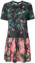 Paul Smith tropical print dress - women - Cotton - M
