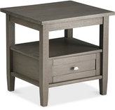 Burbank End Side Table, Quick Ship