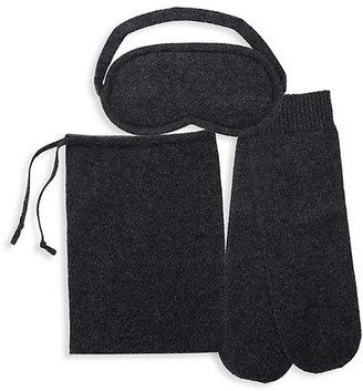 Sofia Cashmere Knitted Cashmere Mini Travel Set
