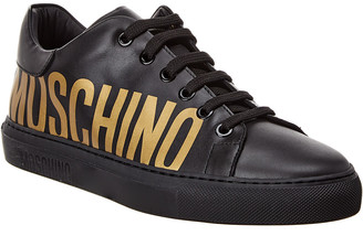 Moschino Leather Sneaker
