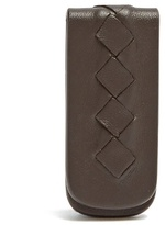 Bottega Veneta Intrecciato Leather Money Clip