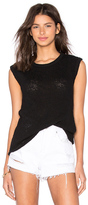 James Perse Web Jersey Muscle Tank