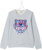 Kenzo tiger sweatshirt - kids - Cotton - 16 yrs