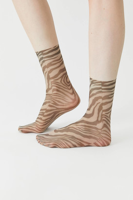 Tailored Union Wild Tiger Sheer Sock