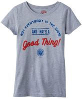 """Girls 4-6x Kid President """"Not Everybody Is The Same"""" Graphic Tee"""