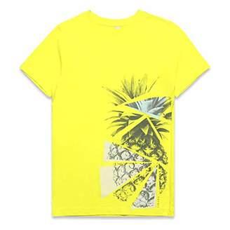 Esprit Boy's T-Shirt Ss (Bright Yellow 729), 170 (Size: X-Large)