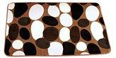 Nunubee Home Decor Floor Mat Living Room Bedroom Carpet Khaki Print 15.6*23.4IN