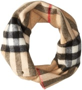Burberry Exploded Check Snood Scarves