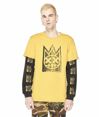 Cult of Individuality Men's Long Sleeve Crew Neck Heavy Weight