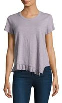 Wilt Shrunken Ruffled Top