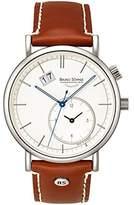 Bruno Soehnle Bruno Söhnle men's Quartz Watch Analogue Display and Leather Strap 17-13156-241