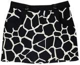 Milly Black & White Mini Skirt