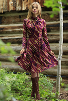 Shabby Apple Leah Dress Maroon