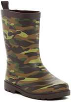 Capelli of New York Matte Cool Camp Printed Rain Boot (Toddlers, Little Kid, & Big Kid)