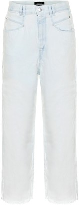 Isabel Marant Naliska high-rise cropped jeans