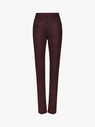 Gerard Darel Lucille Skinny Jeans, Burgundy