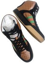 Gucci Dapper Dan Multicolour Leather Trainers