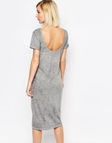 Selected Viona Jersey Dress with Scoop Back