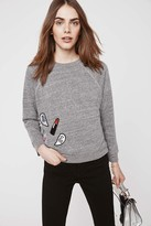 Rebecca Minkoff Multi Patch Sweatshirt