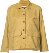 The Great flared sleeves jacket - women - Cotton/Tencel/Linen/Flax/Polyurethane - 1
