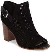 Sam Edelman Women's Easton Perforated Open Toe Bootie