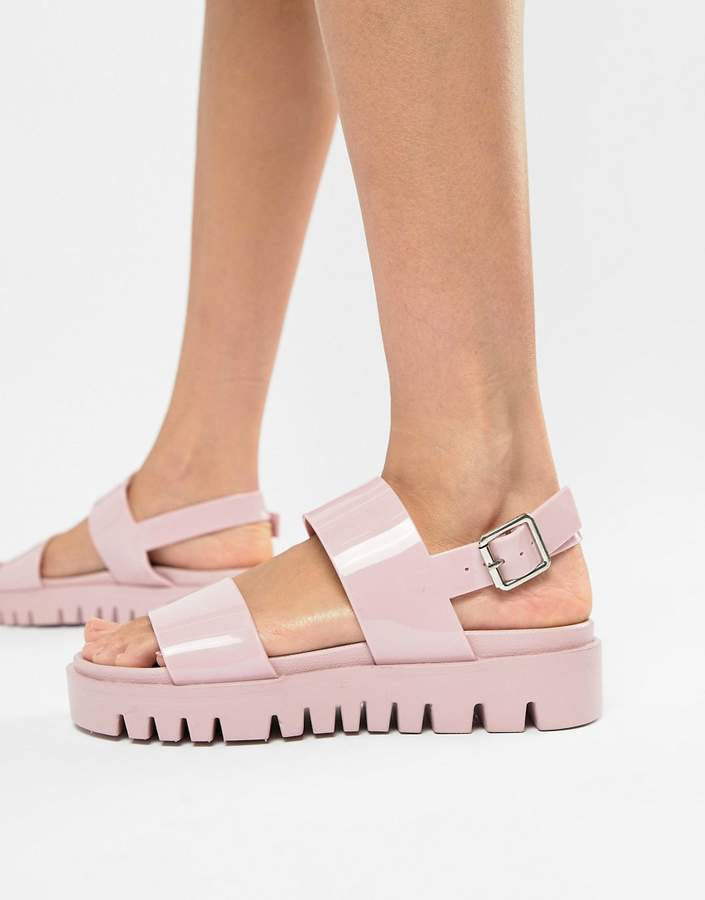 30e4116ef3 Flat Jelly Sandals - ShopStyle