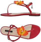 Patrizia Pepe Toe strap sandals - Item 11245292