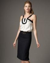 Links Chain Pencil Skirt