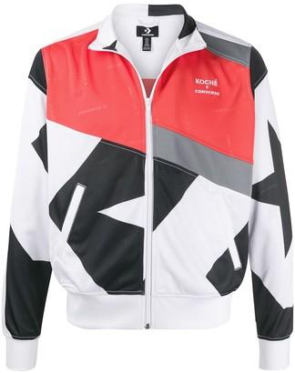 Koché x Converse star print track jacket