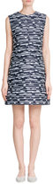 Jil Sander Navy Printed Shift Dress