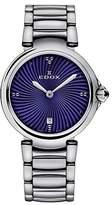 Edox Women's 57002 3M BUIN LaPassion Analog Display Swiss Quartz Silver Watch