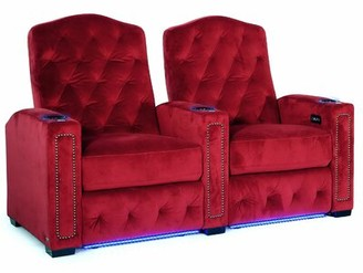 Winston Porter HR Series Home Theater Row Seating (Row of 2)