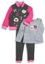Betsey Johnson Girls 2-6x Three-Piece Set