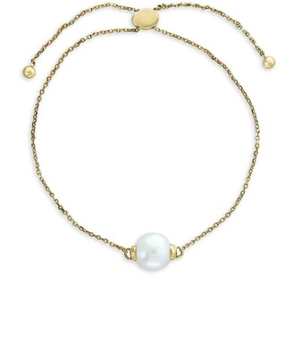 Effy 14K Yellow Gold & 9mm Pearl Bracelet