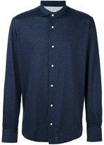 Eleventy cuffed button down shirt - men - Cotton - 42