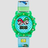 Nintendo Ninetendo® Boys' Wristwatch - Green One Size Fits Most