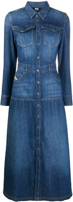 Diesel Denim Mid-Length Dress