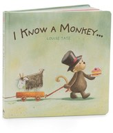 Jellycat Infant 'I Know A Monkey' Board Book