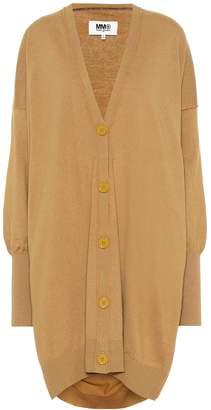 MM6 MAISON MARGIELA Cotton and cashmere cardigan