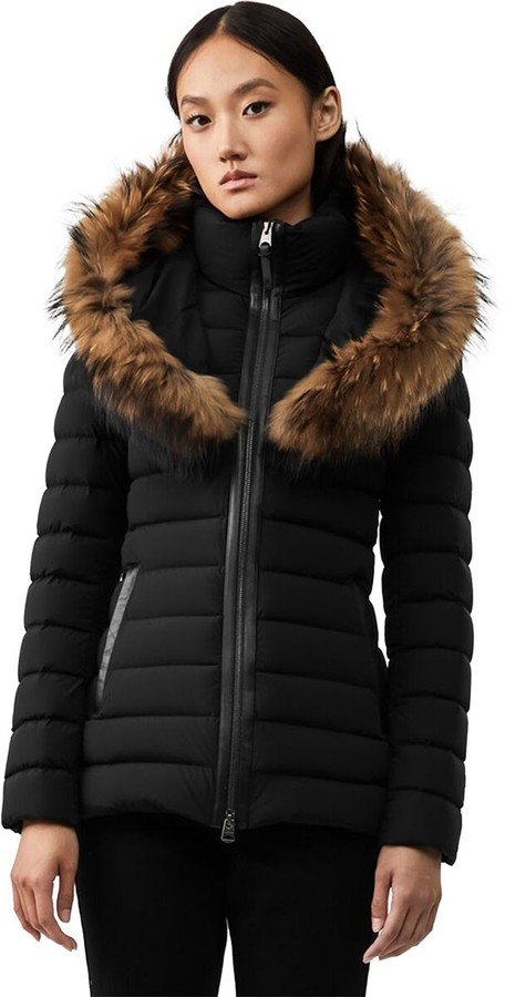 3f11d1ad933 Mackage Women Fur Hood Down Jacket - ShopStyle