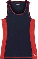Tory Sport Mesh And Stretch-tactel® Tank - Midnight blue