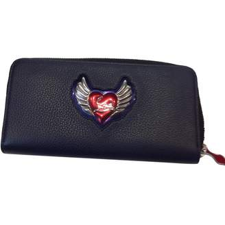 Christian Louboutin Blue Leather Wallets