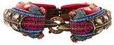 Lanvin Crystal Double Bird Bangle