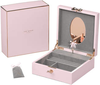 Ted Baker Jewellery Box with Musical Ballerina - Pink