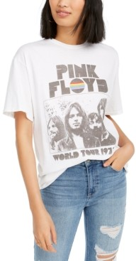 Junk Food Clothing Cotton Pink Floyd Graphic T-Shirt