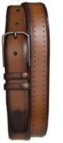 Mezlan Men's 'Diver' Two-Tone Leather Belt