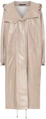 Zeynep Arã§Ay Leather coat
