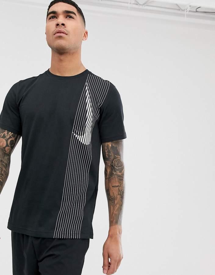 Nike Training Dry logo t-shirt in black